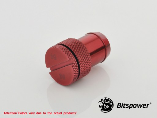 Deep Blood Red Sealing Plug For ID 1/2