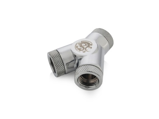 Silver Shining Y-Block With Triple Rotary IG1/4