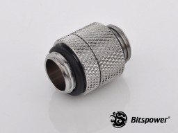 "G1/4"" Silver Shining Rotary G1/4"" Extender"
