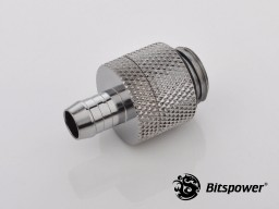 """G1/4"""" Silver Shining Rotary 1/4"""" Fitting"""