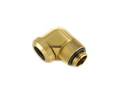 "Bitspower True Brass Enhance Rotary G1/4"" 90-Degree Multi-Link Adapter For OD 12MM"