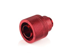 "Bitspower G1/4"" Deep Blood Red Rotary Compression Fitting CC5 Ultimate For ID 1/2"" OD 3/4"" Tube"