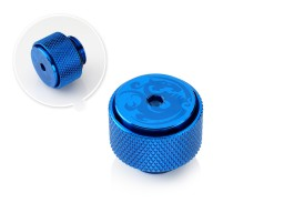 "Bitspower G1/4"" Royal Blue AIR-Exhaust Fitting"