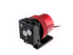 Bitspower D5 MOD Package (Black POM TOP S + MOD Kit V2 Red)