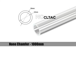 Bitspower None Chamfer Crystal Link Tube OD 16MM - Length 1000MM