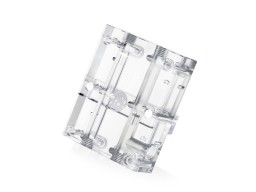 Bitspower VGA SLI/Crossfire Bridge For 3 Slots Application (Clear Acrylic)