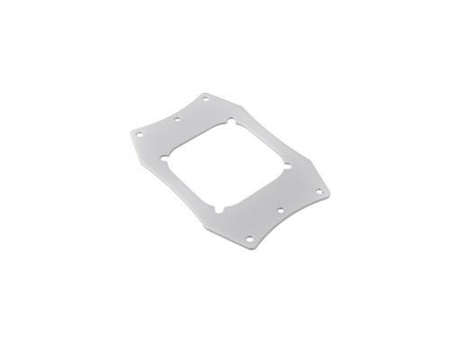 Bitspower CPU Block Plate For AMD CPU (White)