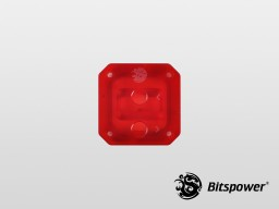 Bitspower CPU Block Summit EF Acrylic Top (ICE Red)