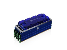 Bitspower Universal RAM Module Water Cooling Set For 4 Banks 4-DIMMs V2