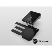 Bitspower AIX79R4BE Nickel Plated Full-Covered-Block (Black)