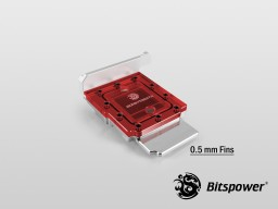 Bitspower AIZ87M6IITX Nickel Plated (ICE Red)