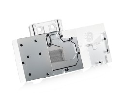 Bitspower VG-NGTX970MG Acrylic Top With Stainless Panel (Clear)