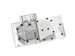 Bitspower VG-NGTX980ADIIS Acrylic Top With Stainless Panel (Clear)