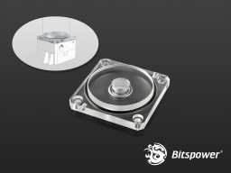 Bitspower DDC TOP Reservoir Adaptor (Clear Acrylic)
