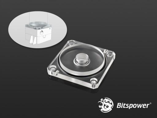 Bitspower DDC TOP Reservoir Adaptor (Clear Acrylic)