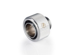 "Touchaqua G1/4"" Compression Fitting For Soft Tubing - ID 1/2"" OD 5/8"" (Glorious Silver) (2 PCS)"