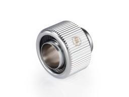 "Touchaqua G1/4"" Compression Fitting For Soft Tubing - ID 7/16"" OD 5/8"" (Glorious Silver) (2 PCS )"