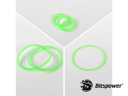 O-Ring Kit For Bitspower Dual D5 MOD TOP (UV Green)