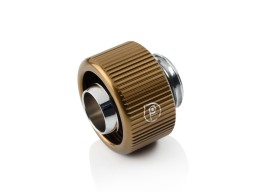 "Touchaqua G1/4"" Compression Fitting For Soft Tubing - ID 3/8"" OD 5/8"" (Bronze) (2 PCS )"