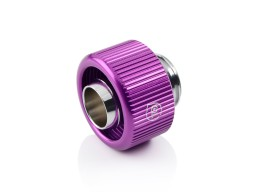 "Touchaqua G1/4"" Compression Fitting For Soft Tubing - ID 3/8"" OD 5/8"" (Purple) (2 PCS )"