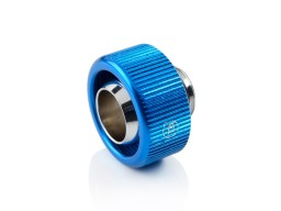 "Touchaqua G1/4"" Compression Fitting For Soft Tubing - ID 1/2"" OD 3/4"" (Blue) (2 PCS )"
