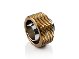 "Touchaqua G1/4"" Compression Fitting For Soft Tubing - ID 1/2"" OD 3/4"" (Bronze) (2 PCS )"