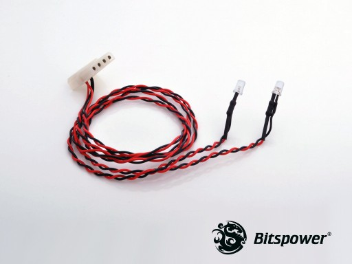 4-PIN Wired Dual LEDs 5MM