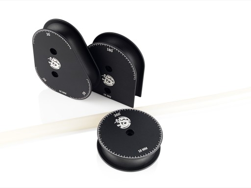 Bitspower Mandrels OD16MM Kit (Matt Black)