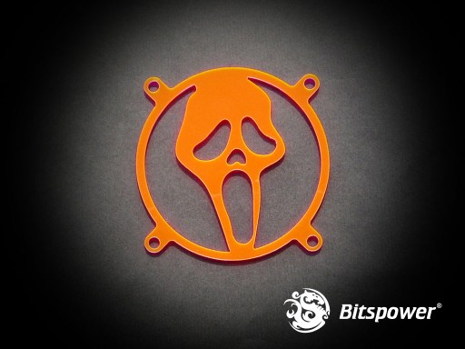 80MM LASER CUT UV-Reactive FAN Grill Scream