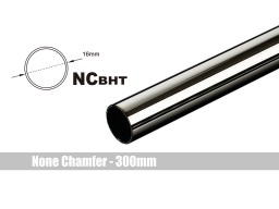 Bitspower None Chamfer Brass Hard Tubing OD16MM Black Sparkle - Length 300 MM