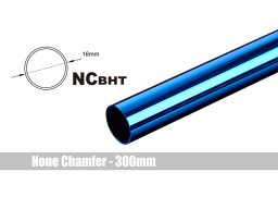 Bitspower None Chamfer Brass Hard Tubing OD16MM Royal Blue- Length 300 MM