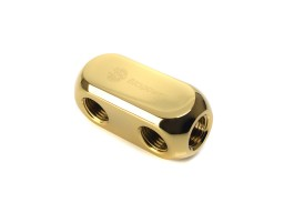 Bitspower True Brass Multi-F Block (Inner G1/4