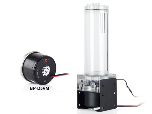 Bitspower D5 150mm Reservoir Combo Digital RGB (Acrylic)