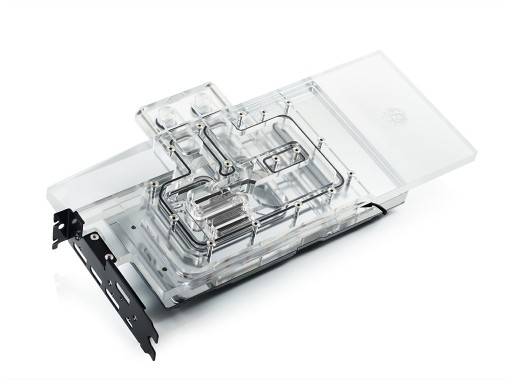Bitspower Lotan series VGA water block and I/O bracket for MSI GeForce RTX 2080 Ti Gaming X TRIO