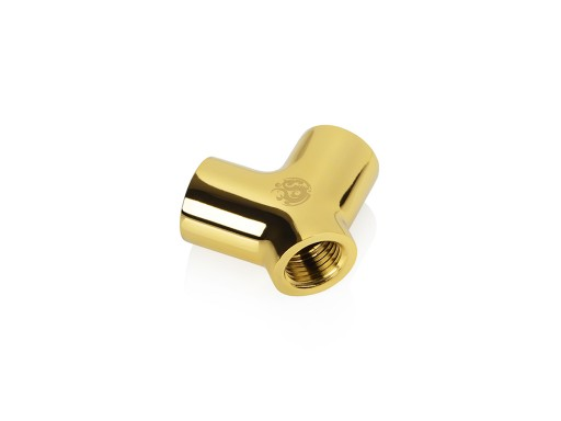 Bitspower True Brass Y-Block Ultimate With Triple IG1/4