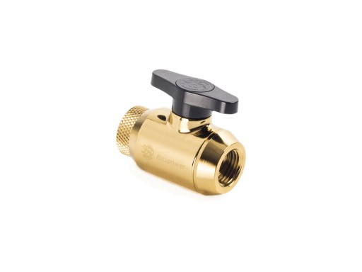 Bitspower True Brass Mini Valve Rotary Inner G1/4