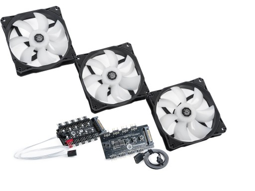 Bitspower Touchaqua Notos 120 Fan Digital RGB (3PCS)