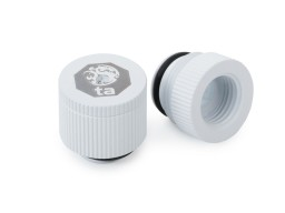 Bitspower Touchaqua water-exhaust fitting  (Deluxe White ) (2 PCS )