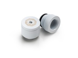 Bitspower water-exhaust fitting  (Deluxe White ) (2 PCS )