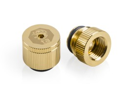 Bitspower Touchaqua water-exhaust fitting  (True Brass) (2 PCS )