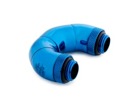 Bitspower Royal Blue Five Rotary Snake-Style Dual G1/4