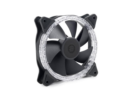 Bitspower Touchaqua Notos Xtal 120 Fan Digital RGB