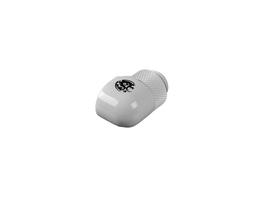 """G1/4"""" Deluxe White Rotary 90-Degree IG1/4"""" Extender"""