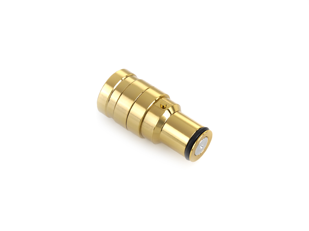 Bitspower True Brass Mini Quick-Disconnected Male With Inner G1/4