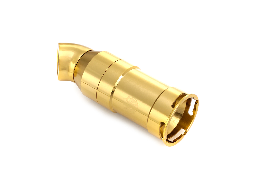 Bitspower True Brass Quick-Disconnected Female With Rotary 45-Degree IG1/4