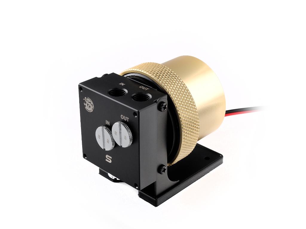 BitspowerD5 MOD Package (Black POM TOP S + MOD Kit V2 Golden)