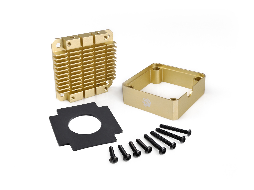 Bitspower Pump Cooler For DDC/MCP355 (Golden)
