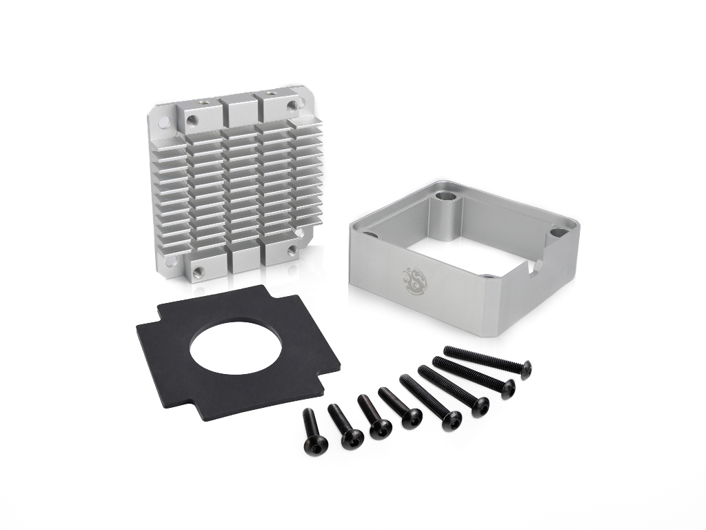 Bitspower Pump Cooler For DDC/MCP355 (Silver)