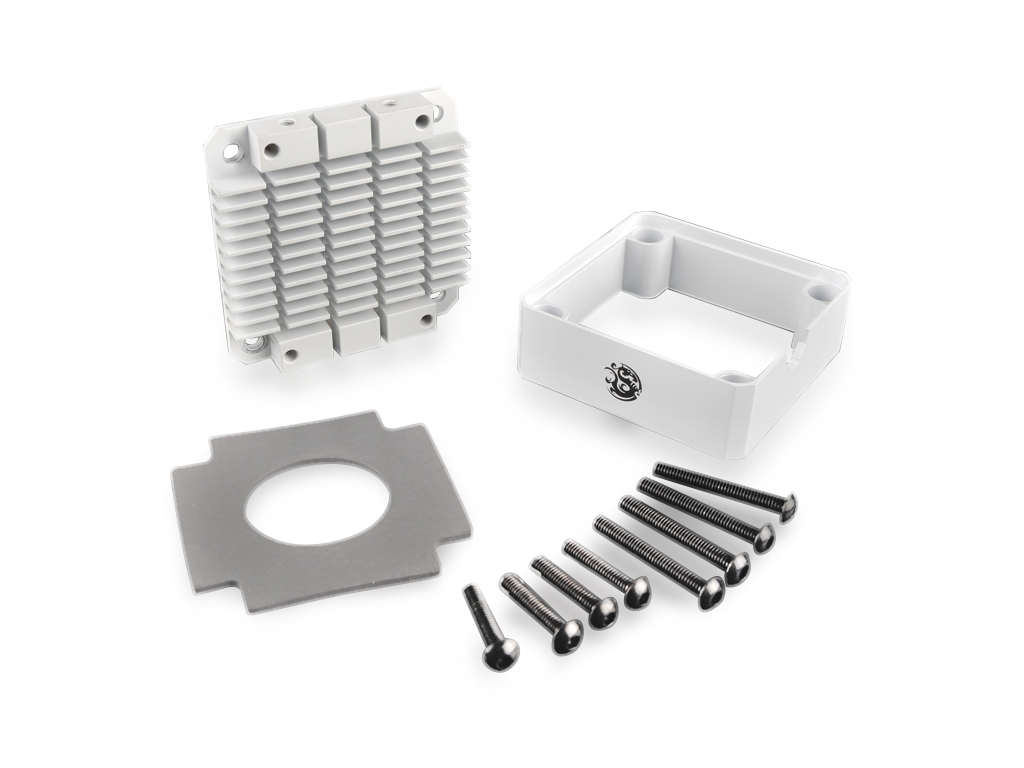 Bitspower Pump Cooler For DDC/MCP355 (White)