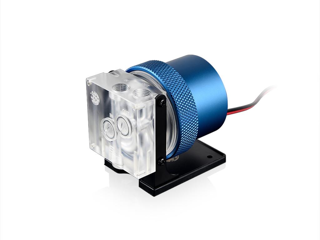 Bitspower D5 MOD Package (Clear Acrylic TOP S + MOD Kit V2 Bule)
